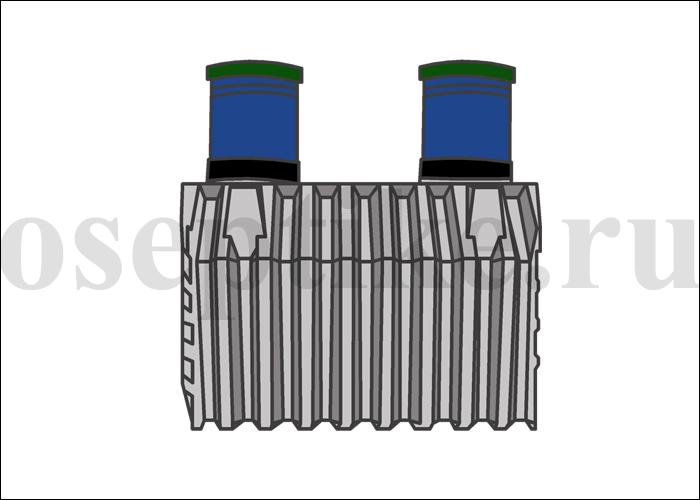 Энергонезависимый септик для загородного дома - Танк 3