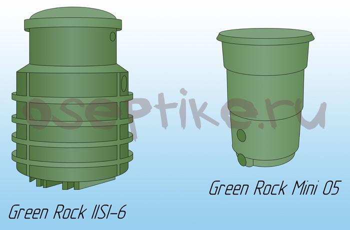Green Rock IISI-6 и Green Rock 05 mini